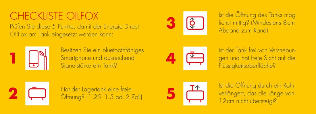 Checkliste Energie Direct Bayern OilFox