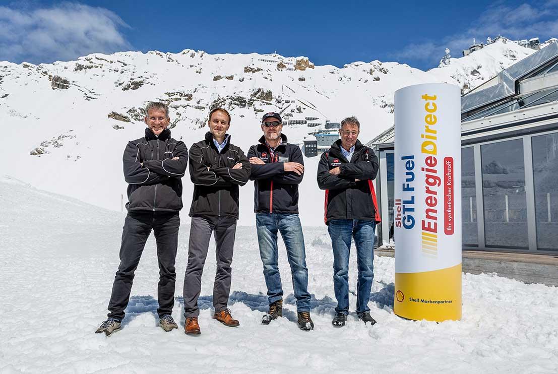 Shell GTL Fuel auf der Zugspitze mit Bronberger & Kessler